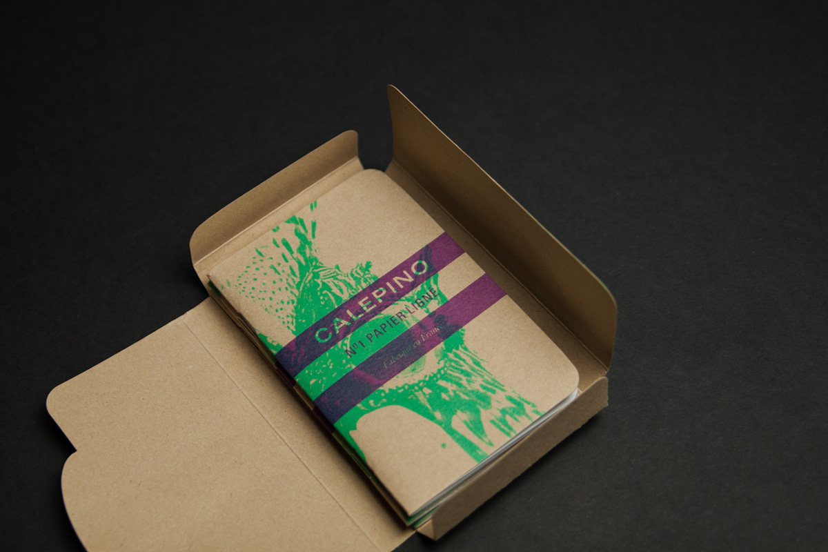 Couverture imprimé en impression typographique