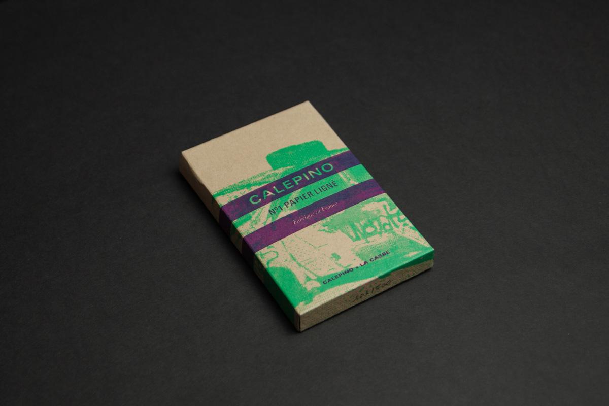 Pack de trois carnet Calepino