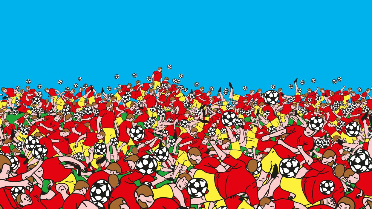 Detail de l'affiche Soccer Poster