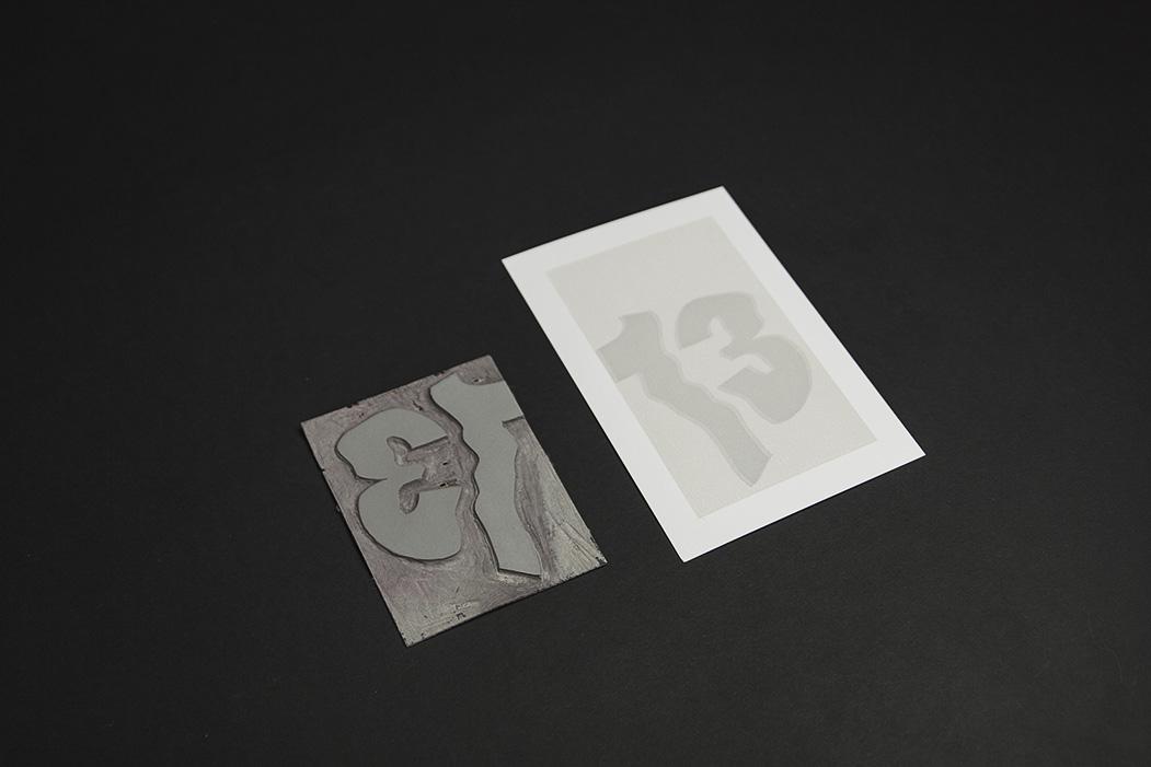 Edition imprimé en impression manuelle