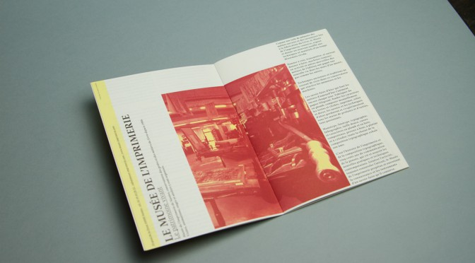Composition intérieur du catalogue de l'exposition
