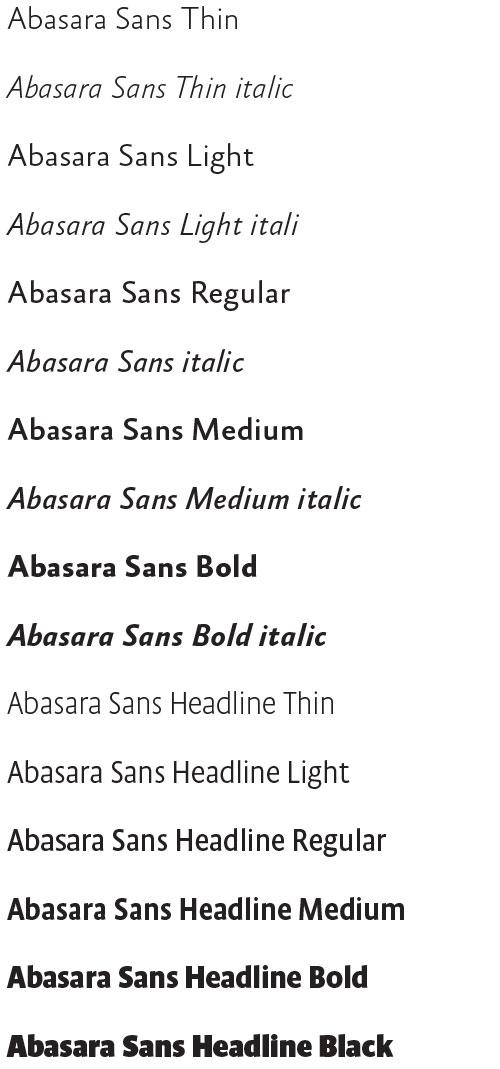 Absara Sans, Xavier Dupré, 2005