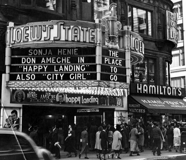 Typographie Théâtre à Broadway