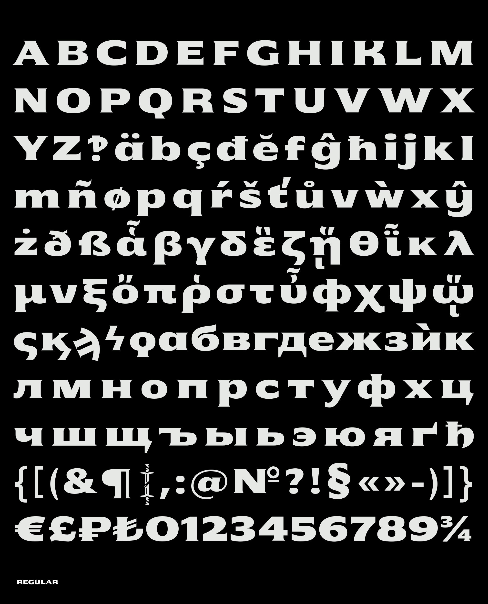 Alphabet regular