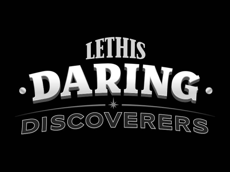 Lethis – Daring Discoverers - Lettrage