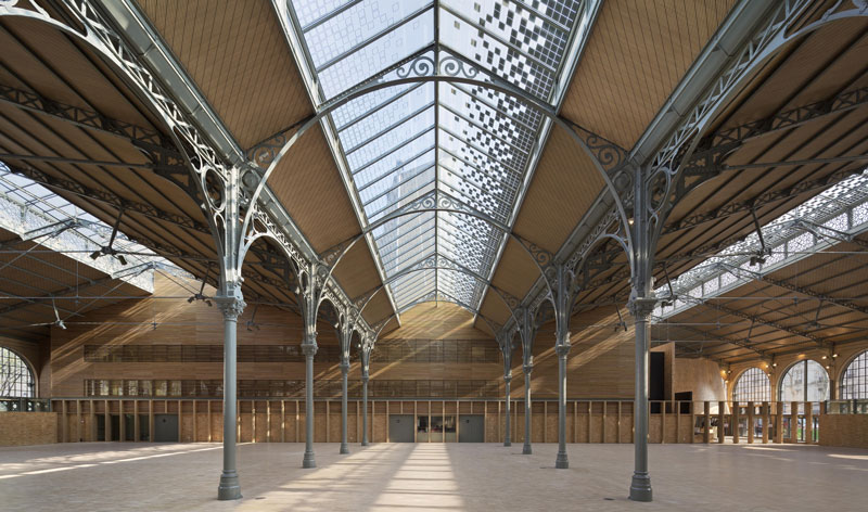 Photo de l'intérieur du Carreau du Temple