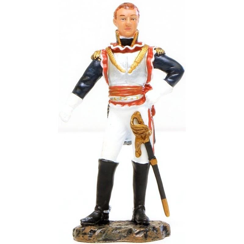 Figurine d'un soldat de plomb représentant le Général Saint-Germain (1761-1835)