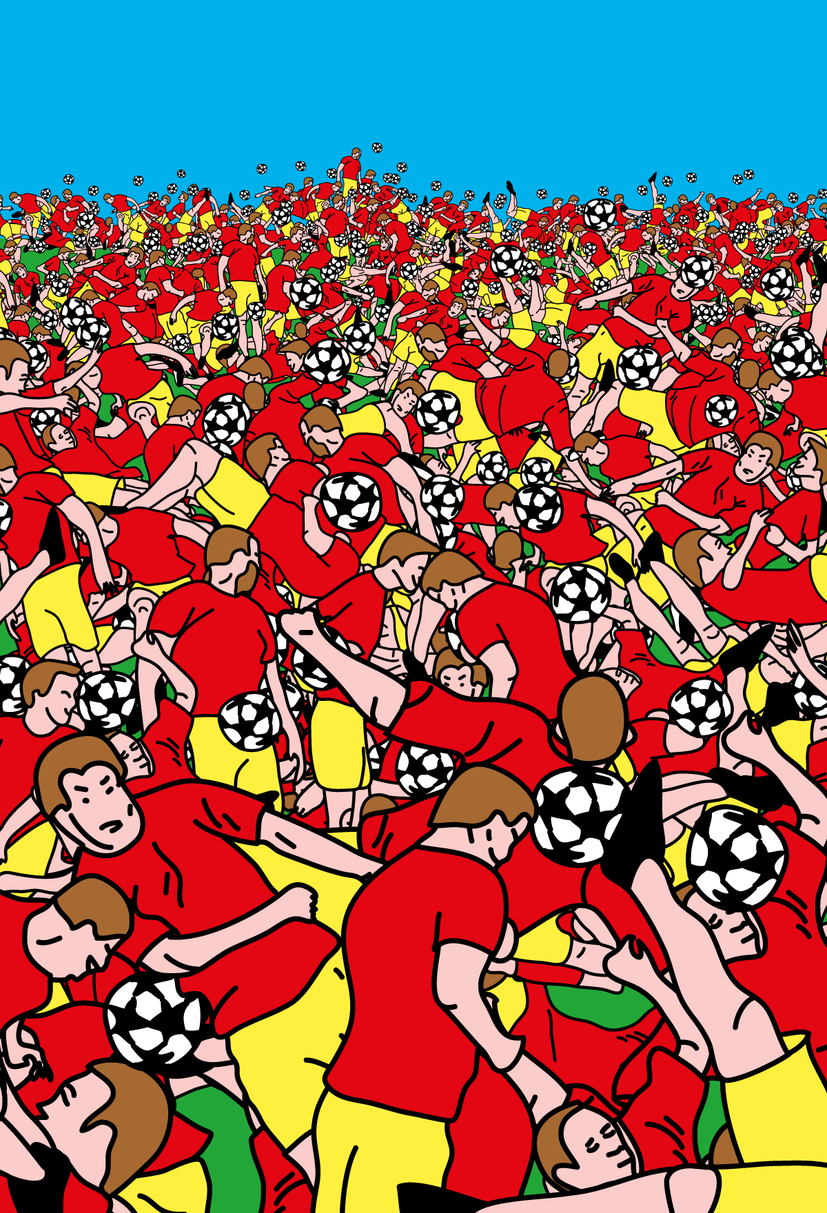 Soccer Poster - Affiche