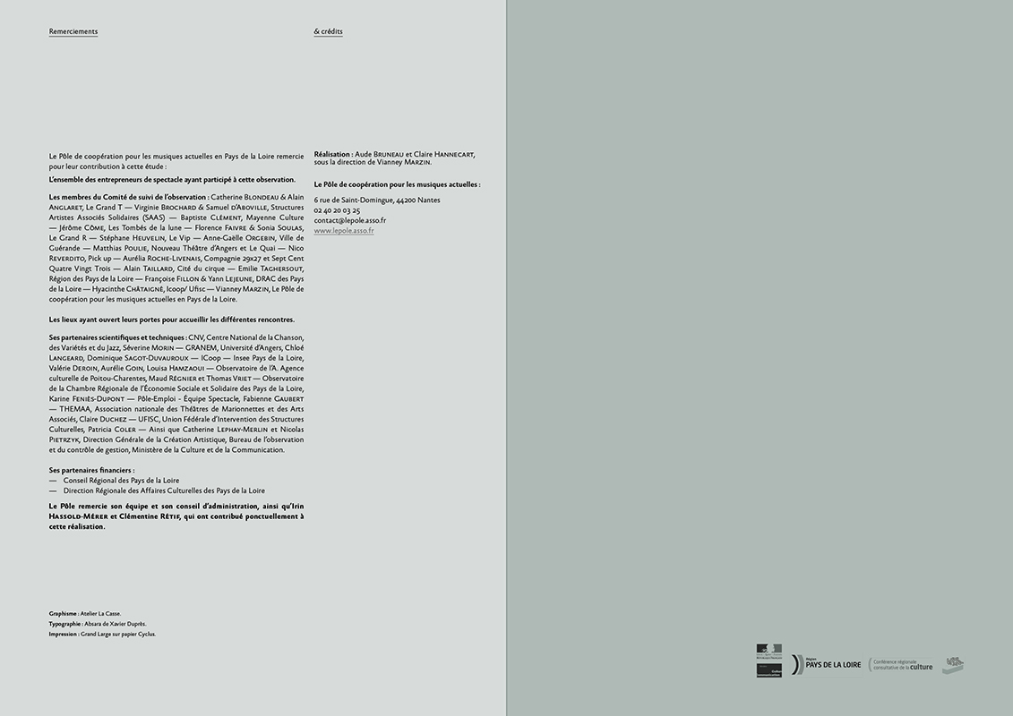 Dernière double page - édition OPPSV 2014