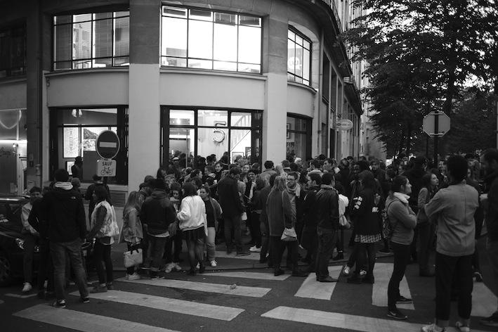 Photo de l'extérieur de la galerie de l'Espace lvl à Nantes