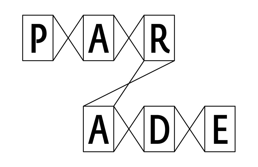 Logo modulaire de l'agence Parade