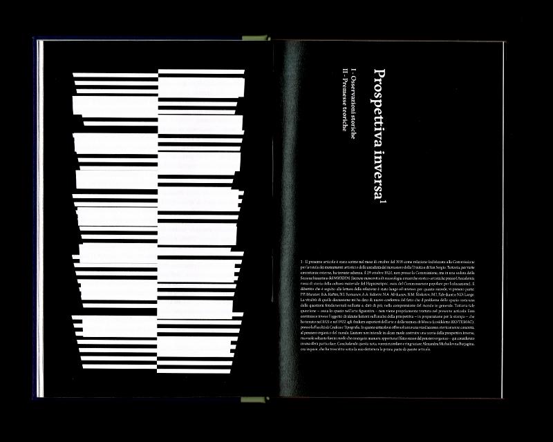 Page intérieur du Scritti sullo spazio, p30 - 31