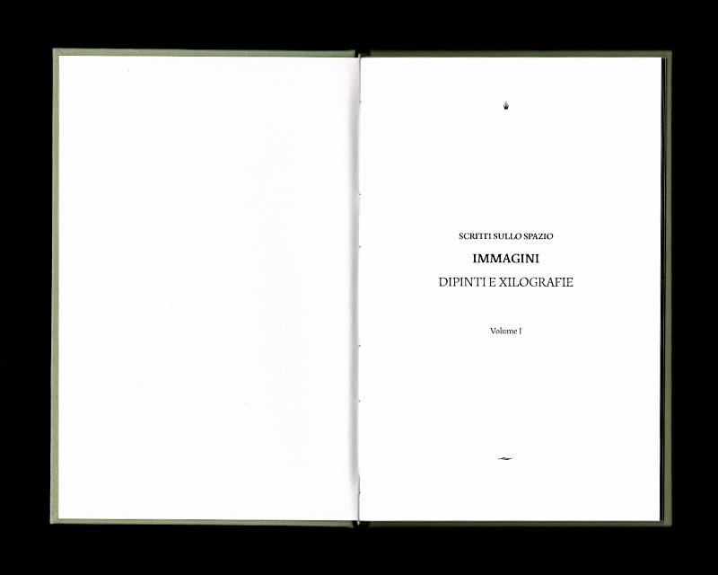 Page intérieur du Scritti sullo spazio (Immagini), p1 - 2