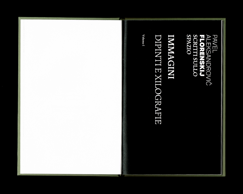 Page intérieur du Scritti sullo spazio (Immagini), p3 - 4