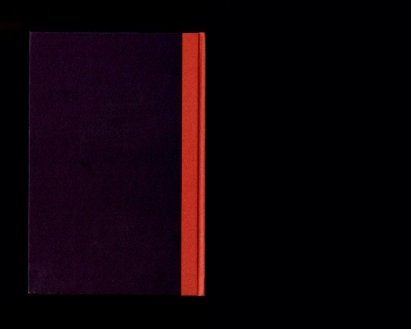 Scan de la backcover du livre Sistema dell'intera filosofia, F.W.J. Schelling, 1804