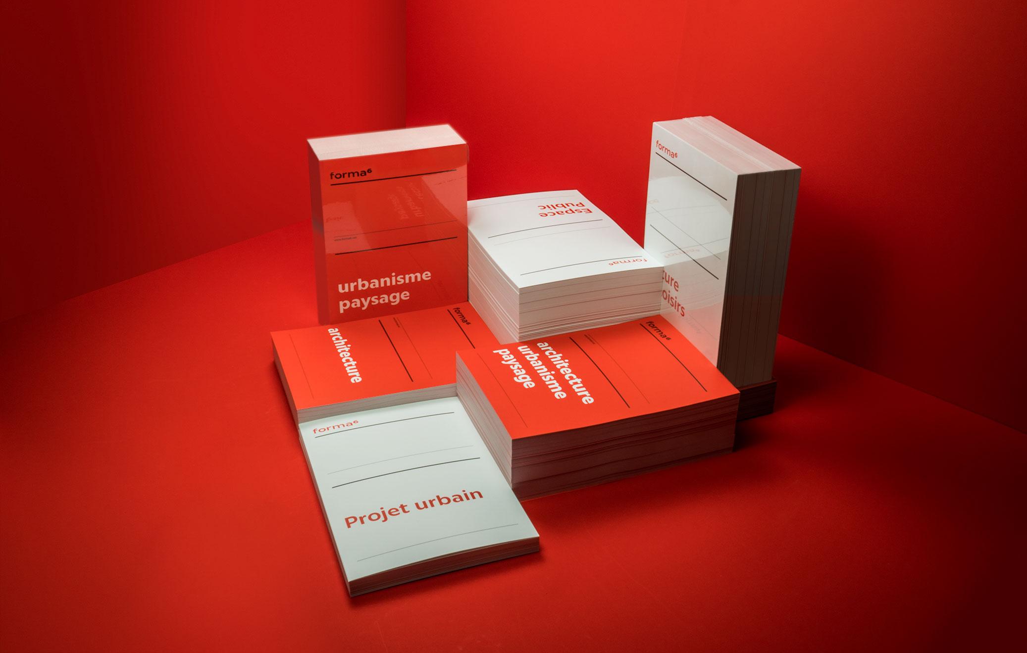 Les intercalaires ont été imprimées sur du Curious Matter avec deux Pantone