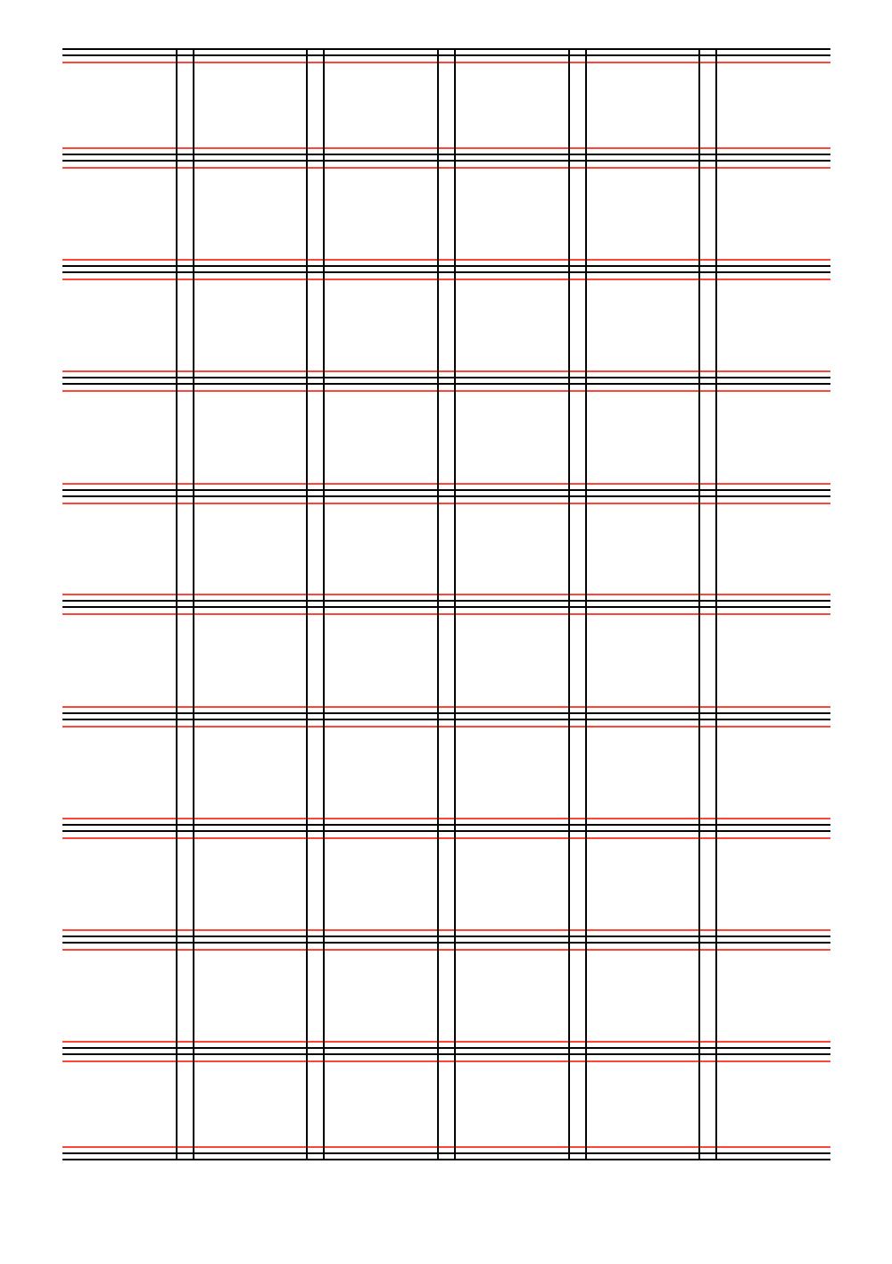 Les gabarits Forma6 sont mise en page avec une grille