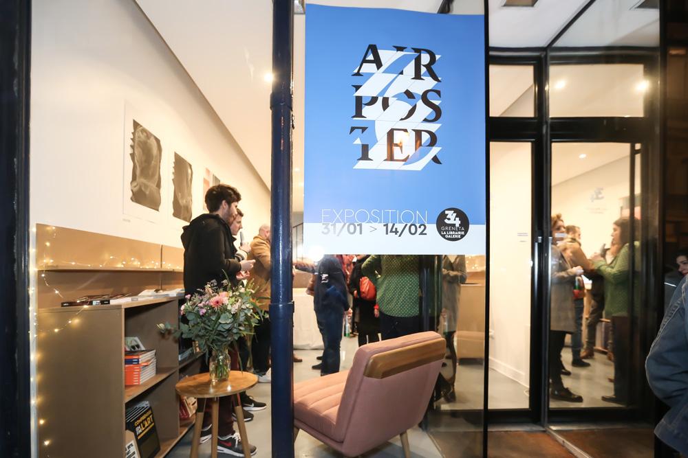 Vernissage de la Galerie 34 Greneta, 75001 Paris