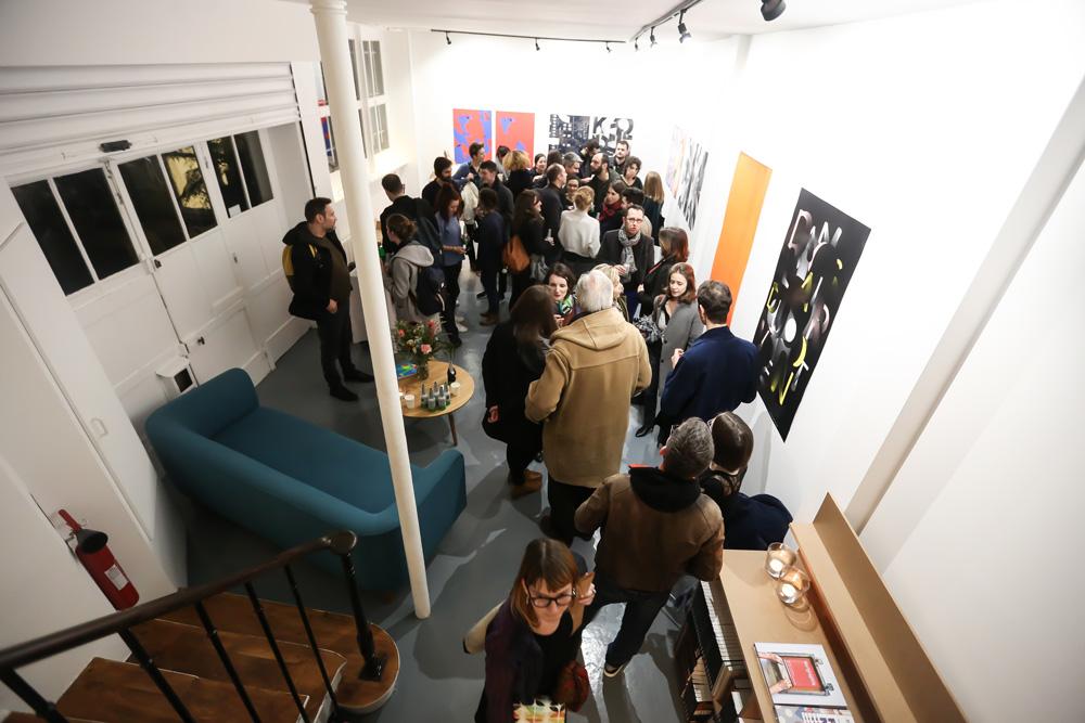 Vernissage de l'exposition graphique Air Poster à Paris