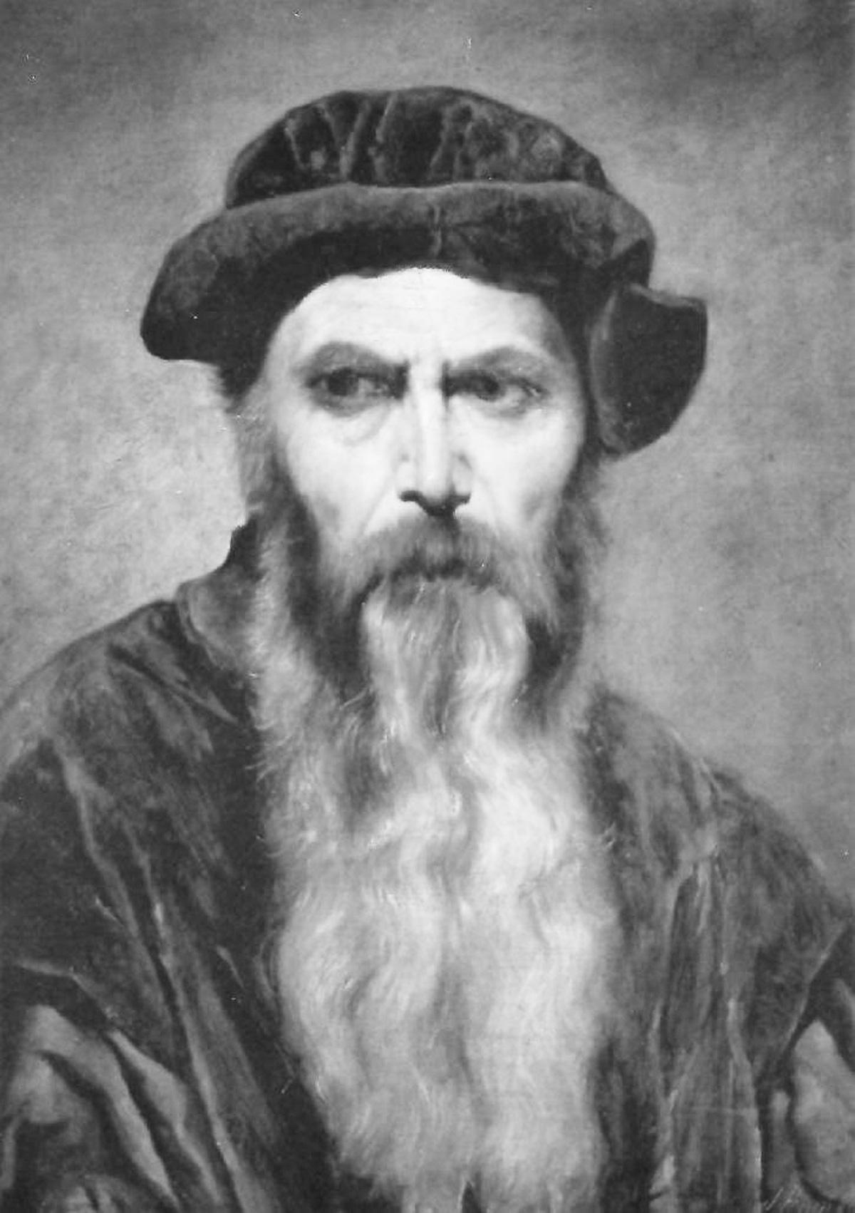 Gutenberg, inventeur de l'imprimerie
