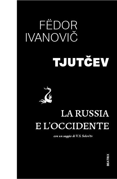 Schema de mise en page de la couverture de La Russia e l'Occidente de Fëdor Ivanovic Tjutcev