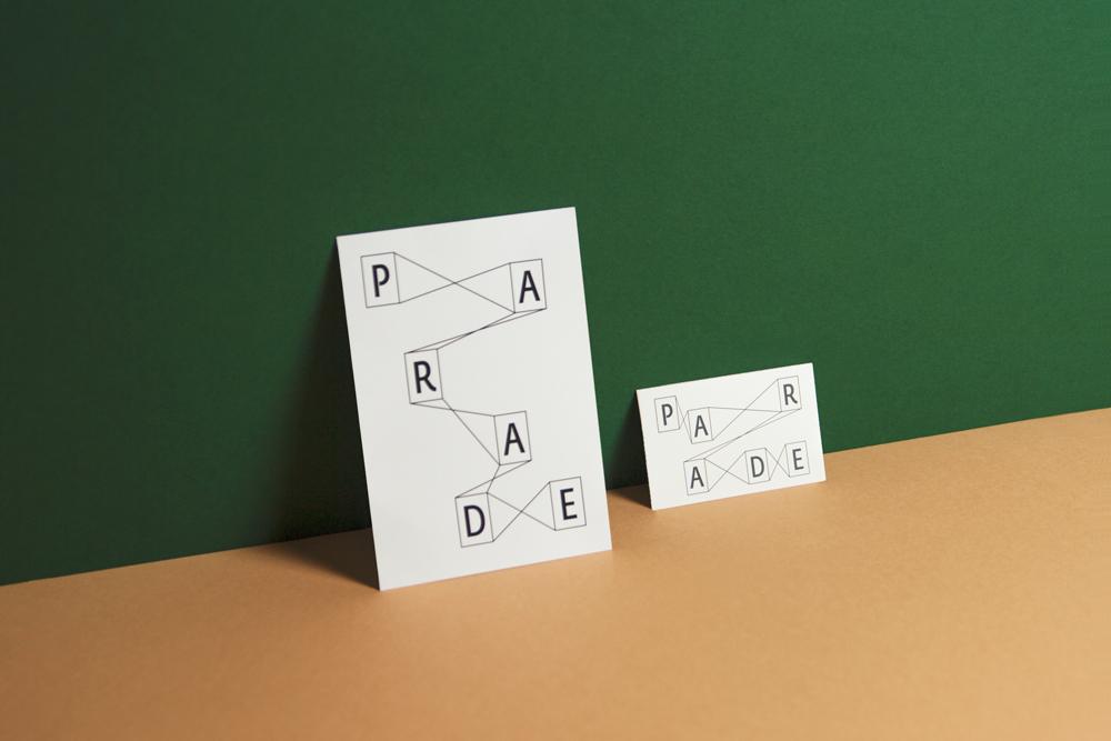 Packshot carte de visite et carte de correspondance