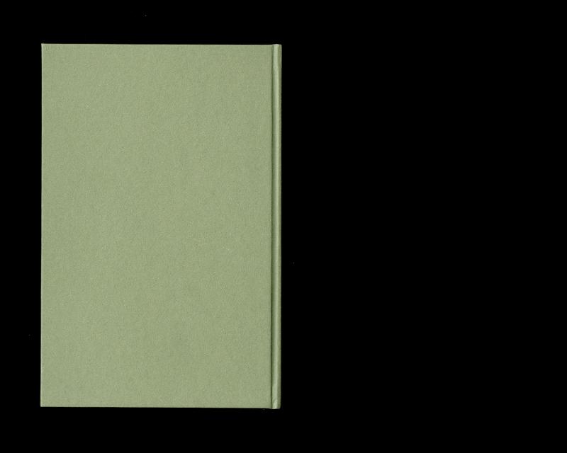 Page intérieur du Scritti sullo spazio (Immagini), backcover