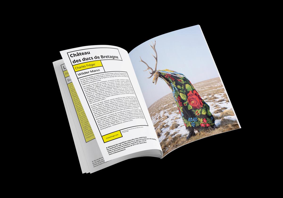 Programme culturel pour festival de photo