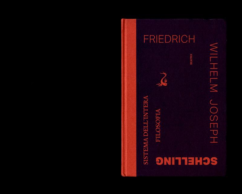 Scan de la couverture du livre Sistema dell'intera filosofia, F.W.J. Schelling, 1804