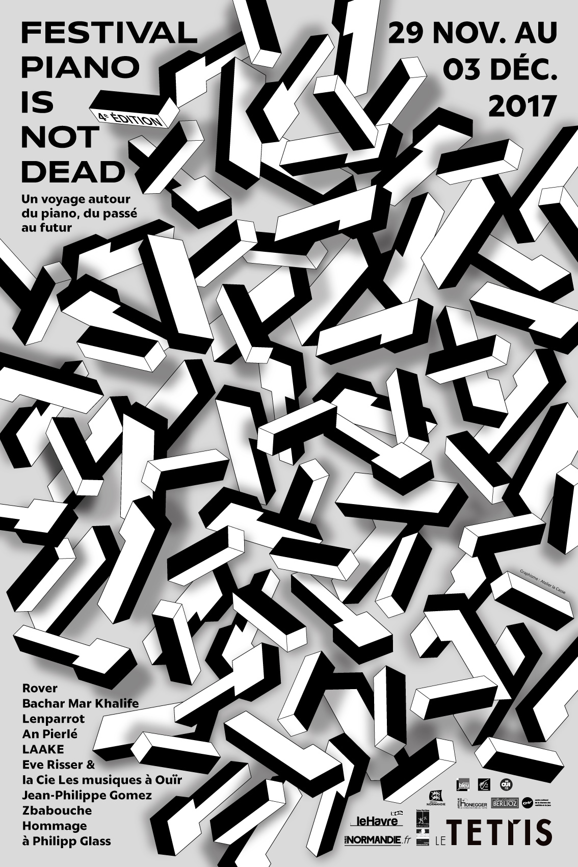 Piano is not dead - Affiche
