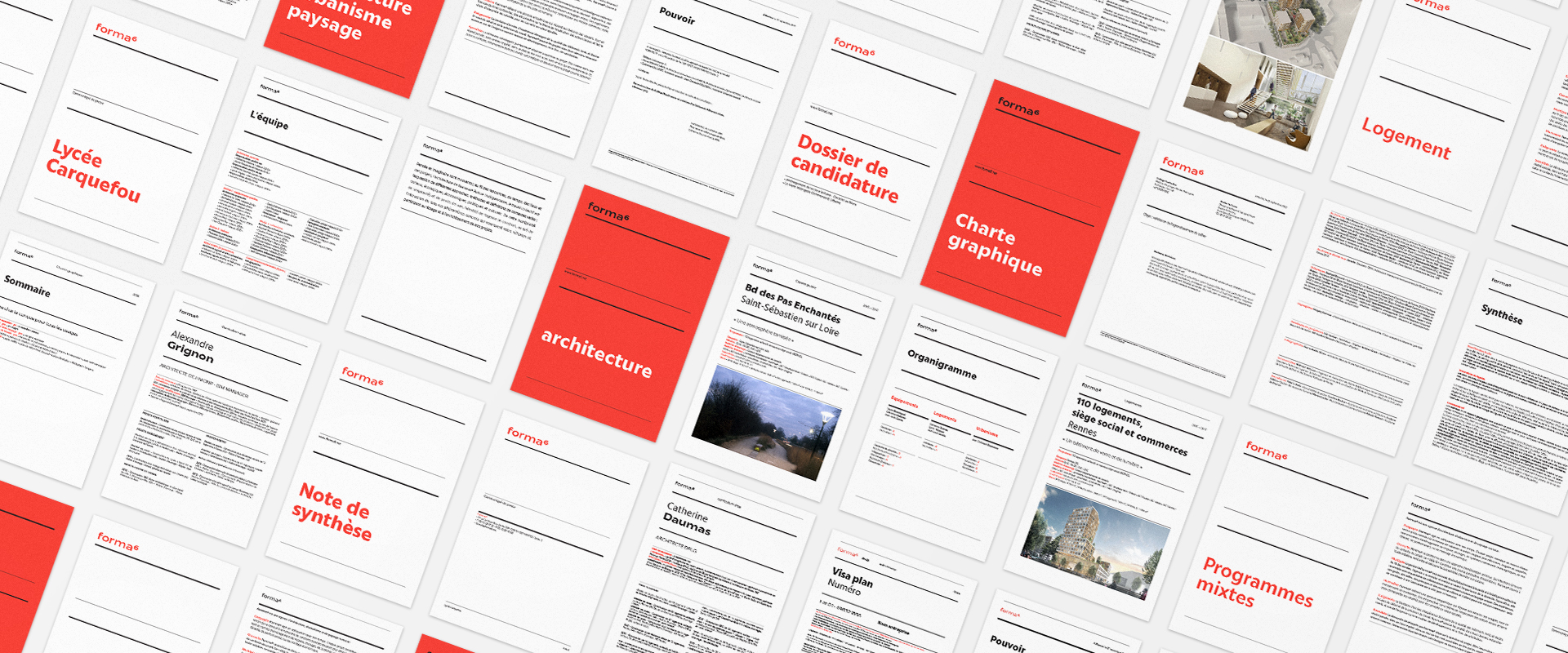 Schéma montrant les différentes mise en page A4